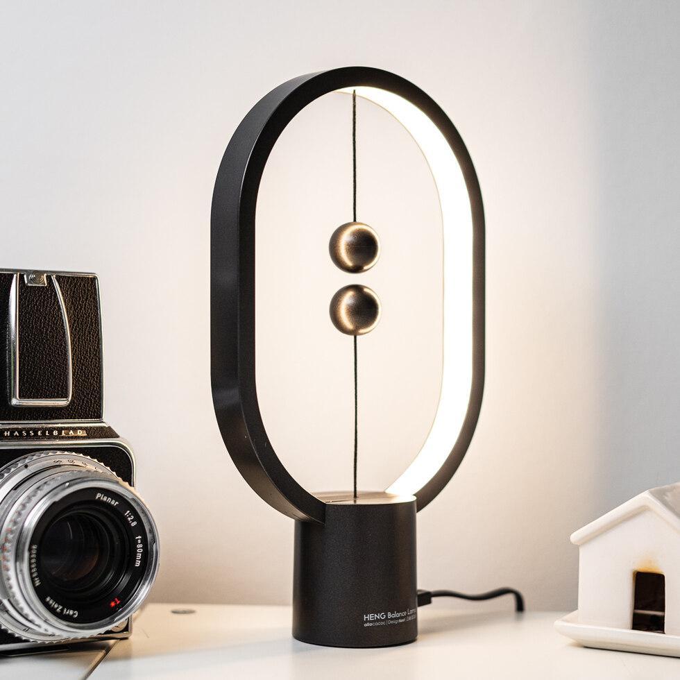 Mini Heng Balance Lamp - Oval - Dark Grey (04942.DG)