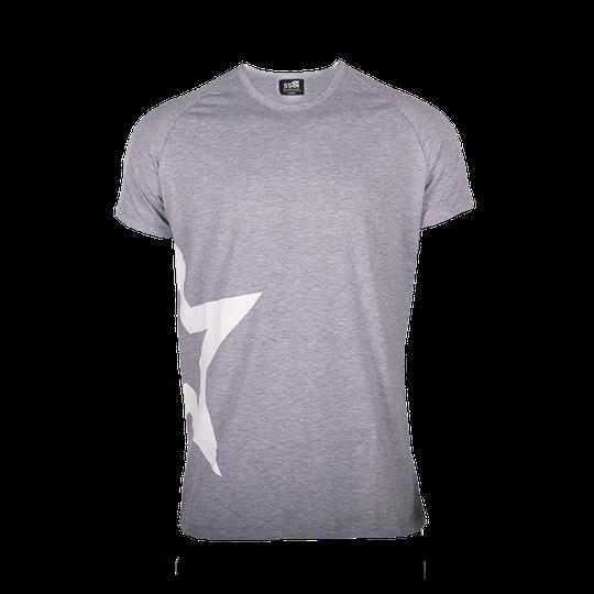 Star Nutrition Raglan T-shirt Star, Grey Melange