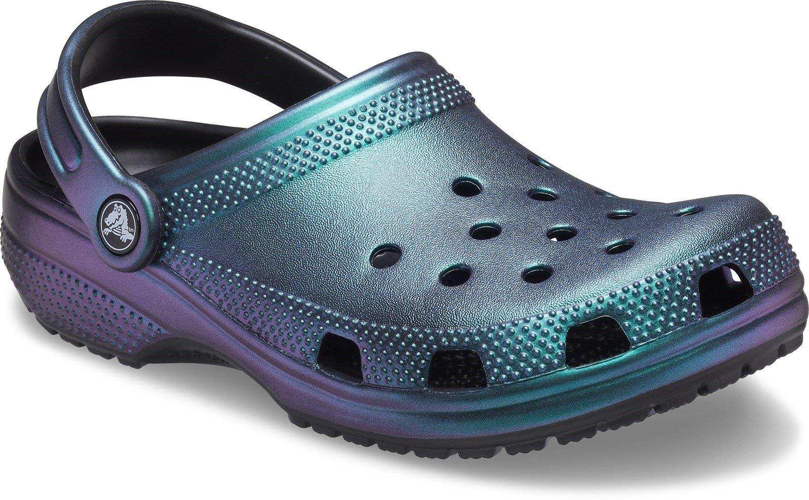 Crocs Women's Prismatic Beach Sandal Black 32075 - Black 3