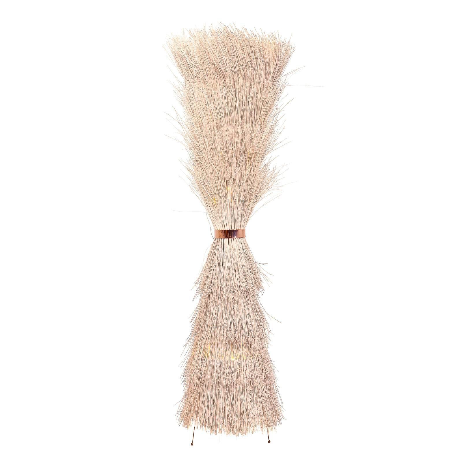 KARE Straw gulvlampe av spanskrør