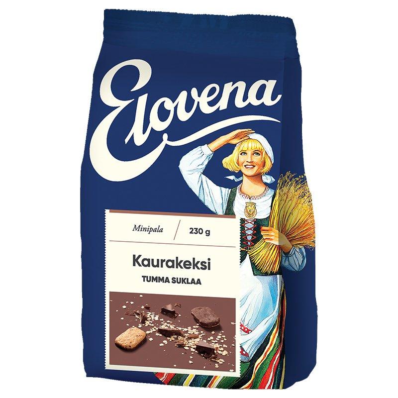 Kaurakeksit Tumma Suklaa - 19% alennus