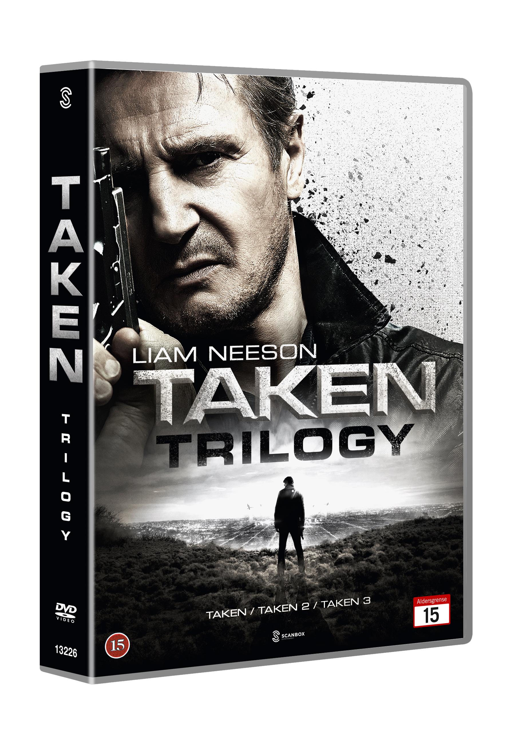 Taken trilogy (1-2-3)