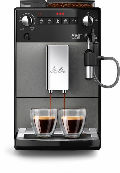 Melitta Avanza Titanium Espressomaskin - Svart