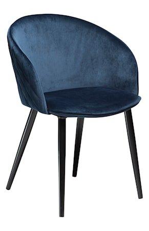 Stol Dual Velour - Midnight Blue