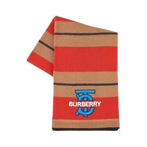 Burberry Logo Halsduk Röd one size