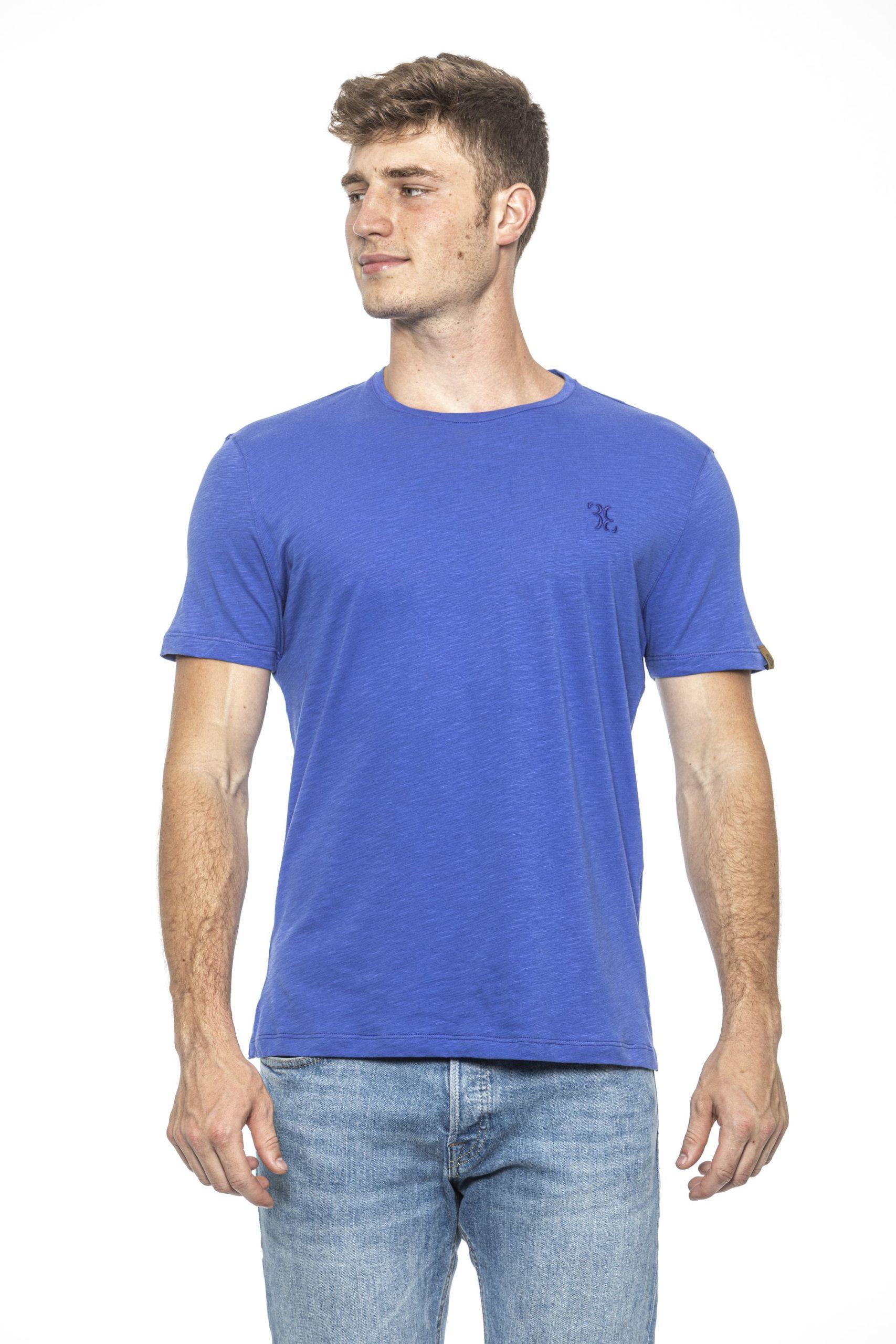 Billionaire Italian Couture Men's Pervinca T-Shirt Light Blue BI1397958 - S