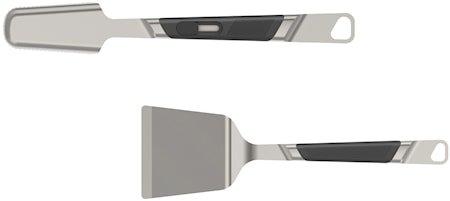 Premium Grillverktøy medium 2 deler stål