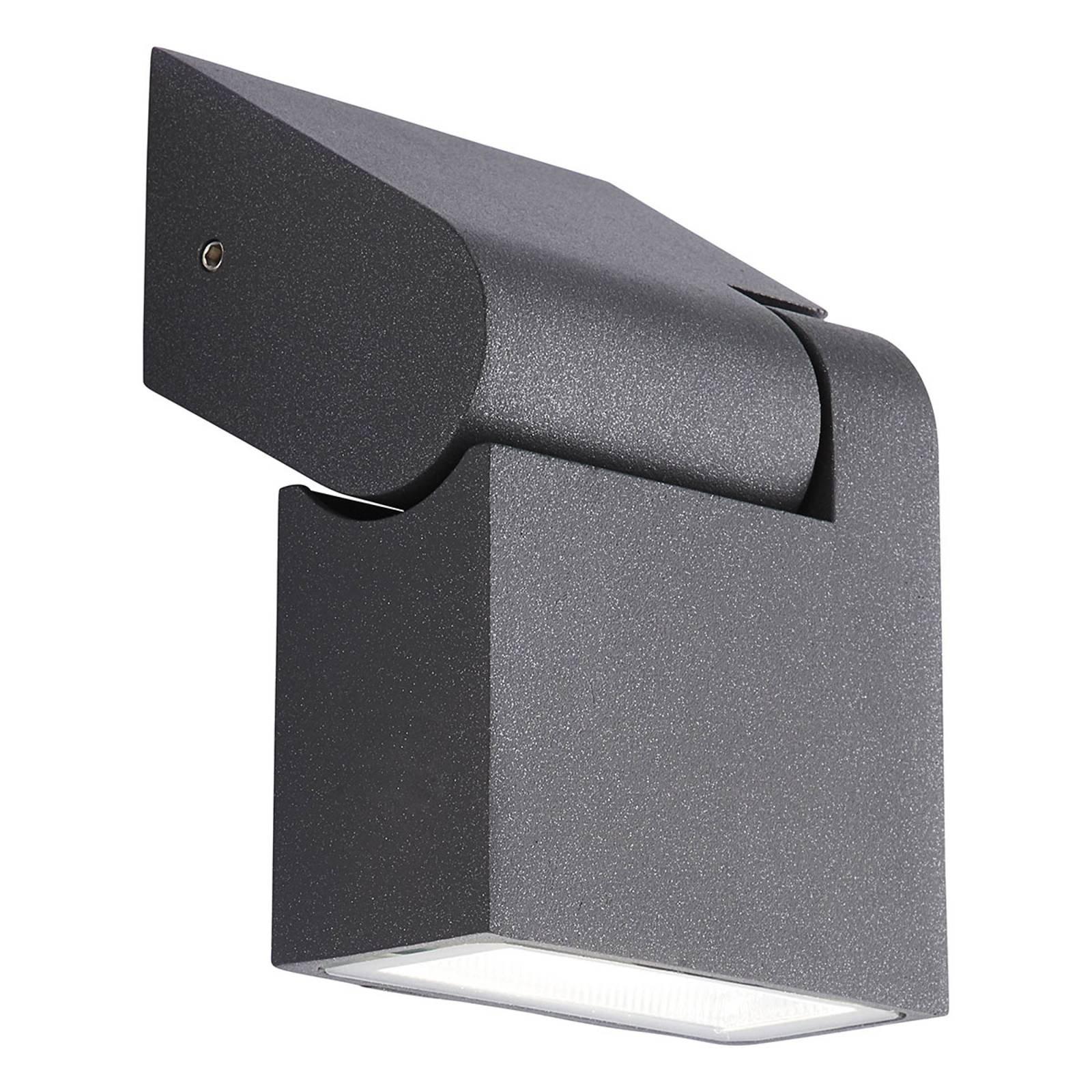 AEG Enid utendørs LED-vegglampe, dreibar