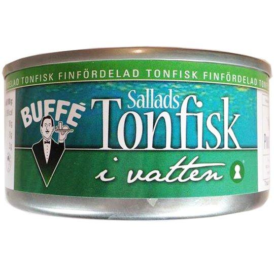 Salladstonfisk i vatten - 17% rabatt