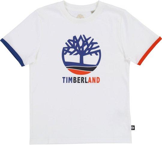 Timberland T-Shirt, White 12år