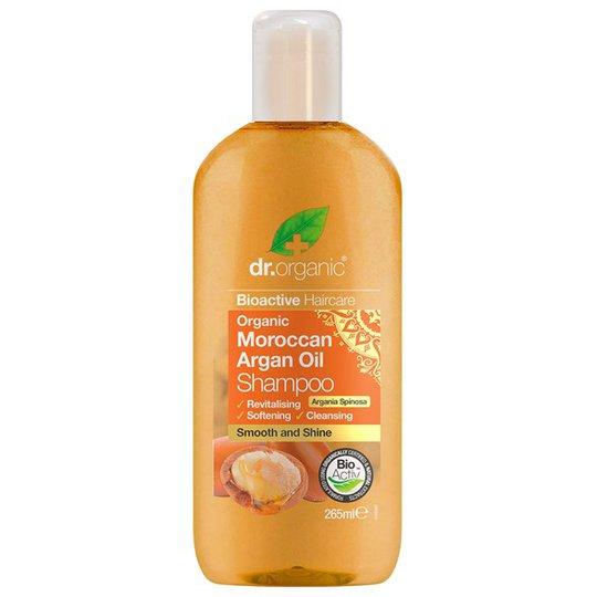 Dr. Organic Moroccan Argan Oil Shampoo, 265 ml