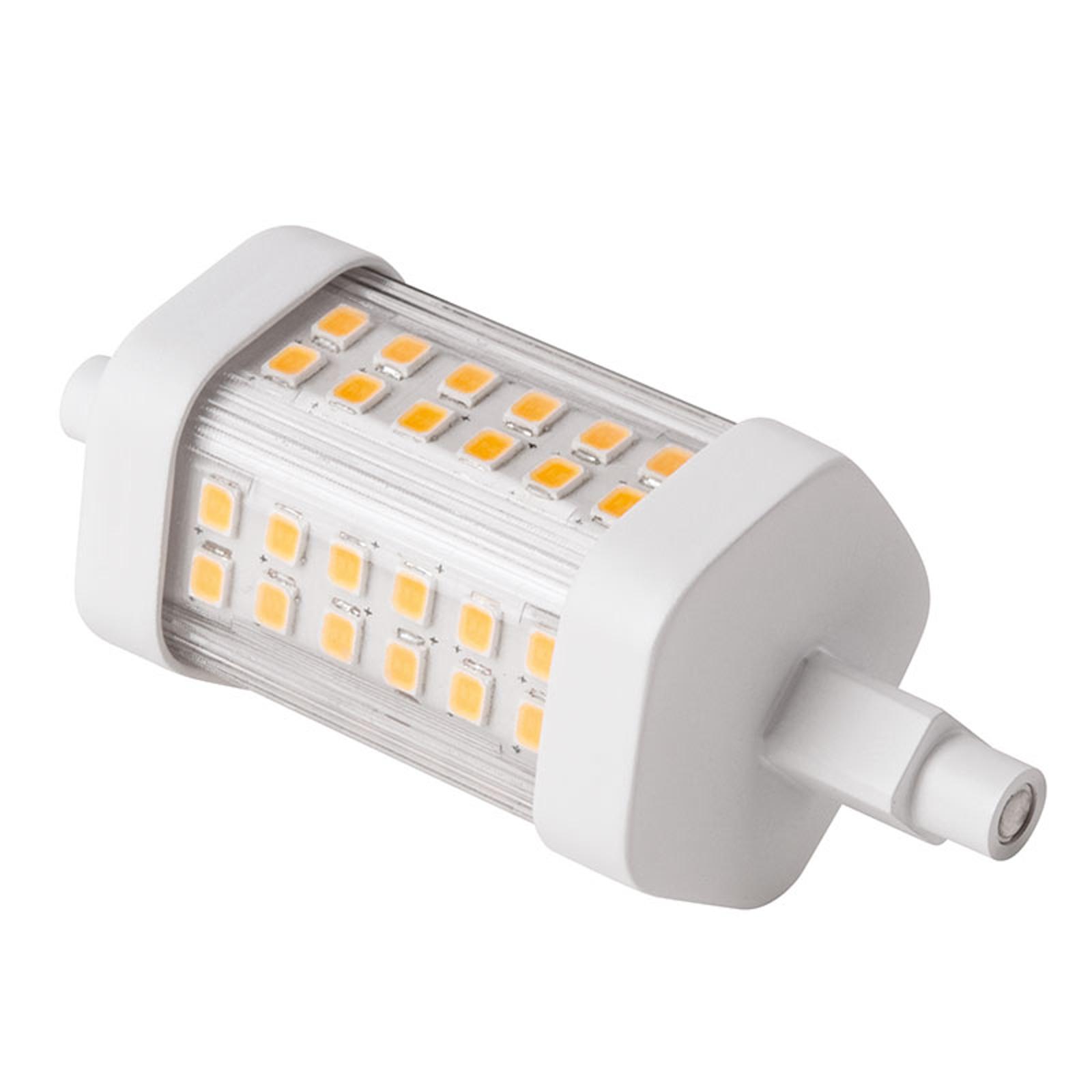 LED-putkilamppu R7s 78 mm 8 W lämmin valkoinen