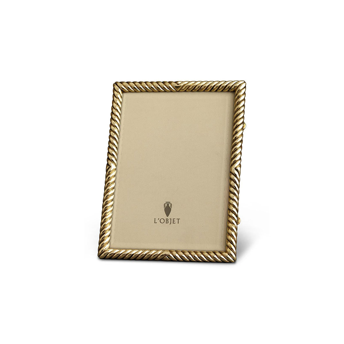 L'Objet I Deco Twist Frame Small Gold