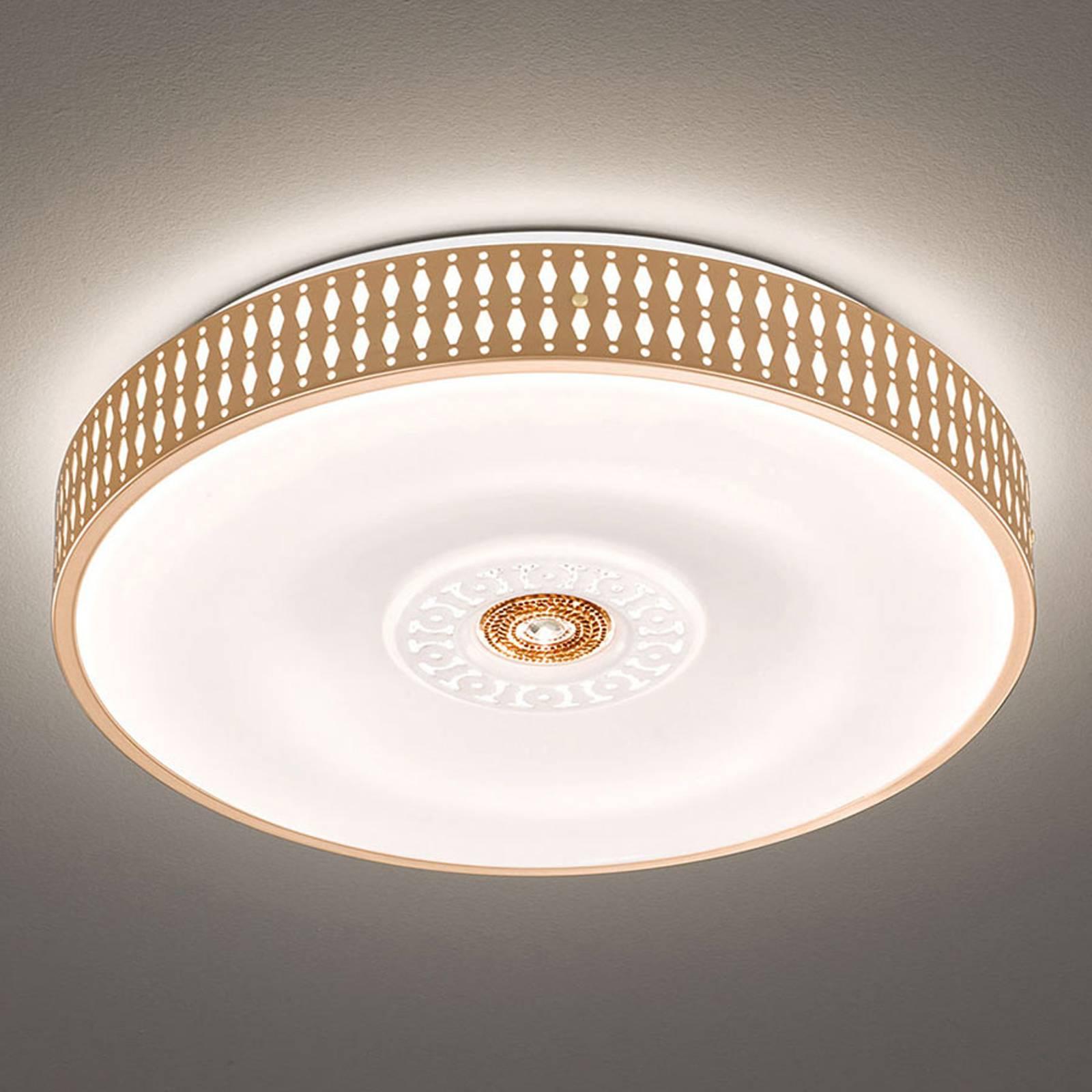 LED-kattovalaisin Coso, himmennettävä, Ø 50 cm