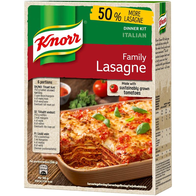 Familjepack Lasagne - 28% rabatt