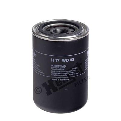 Öljynsuodatin HENGST FILTER H17WD02