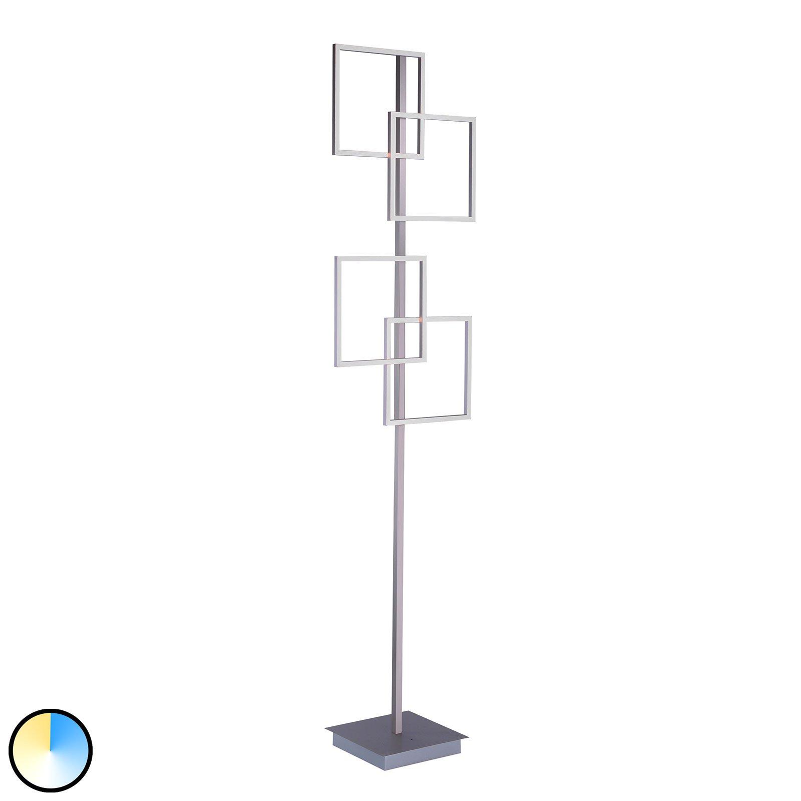 Paul Neuhaus Inigo CCT LED-gulvlampe, 4 lyskilder