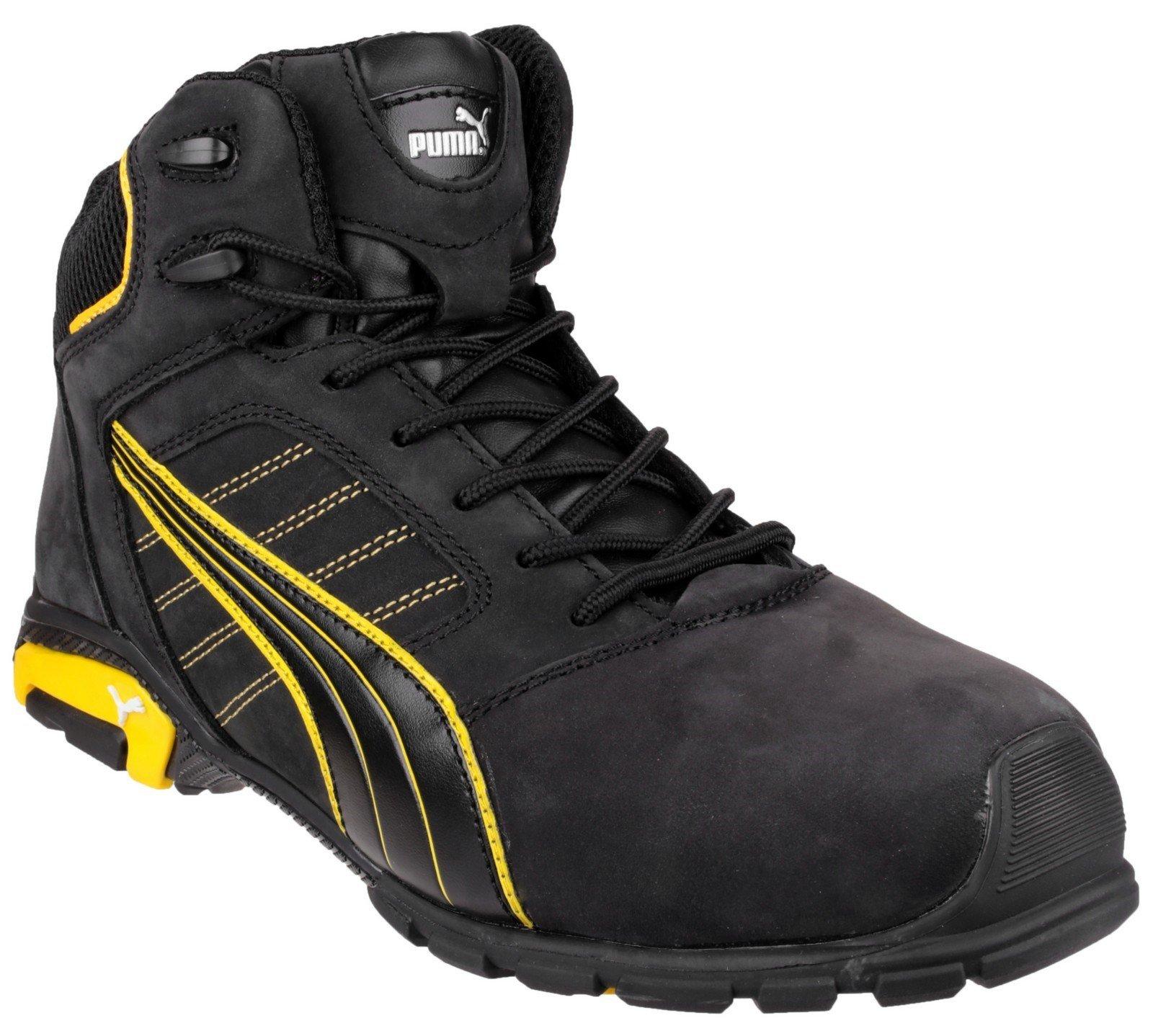 Puma Safety Unisex Amsterdam Mid Boot Black 23090 - Black 6