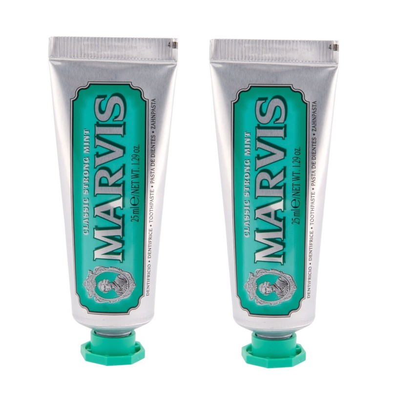 MARVIS - Toothpaste Classic Strong Mint 2x25 ml