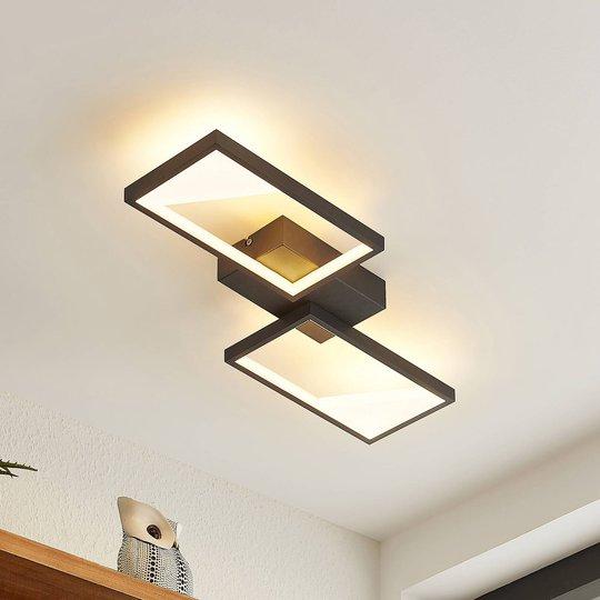Lindby Fotini LED-taklampe, 2 lyskilder