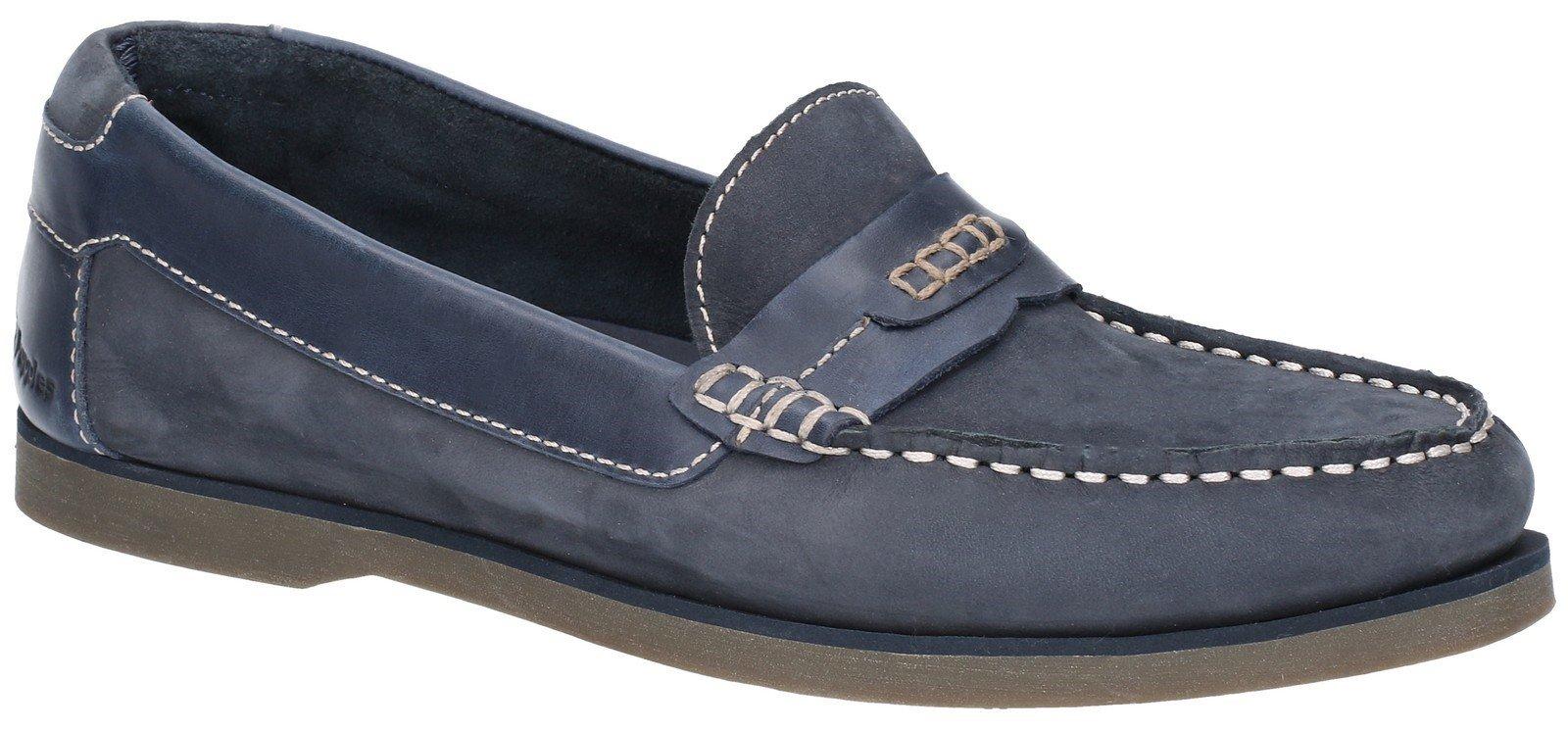 Hush Puppies Men's Finn Slip On Shoe Various Colours 28357 - Navy 6