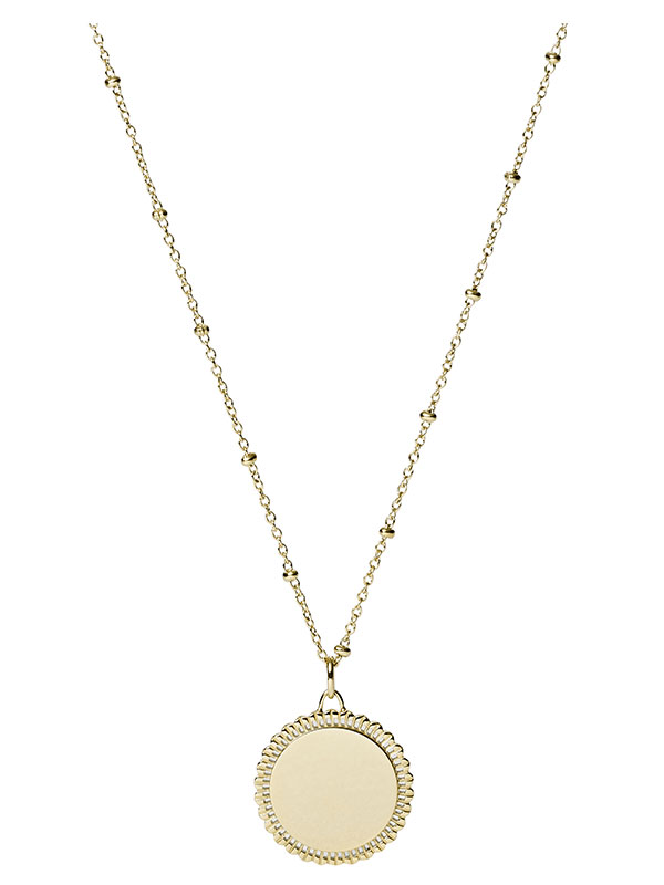 FOSSIL Halsband Vintage Iconic - Guld JF03167710