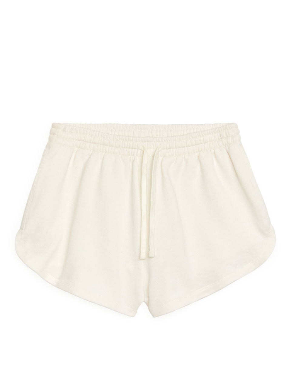 French Terry Shorts - White