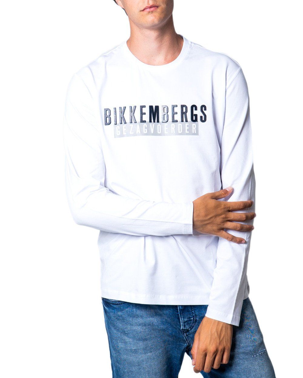 Bikkembergs Men's T-Shirt Various Colours 175516 - white L