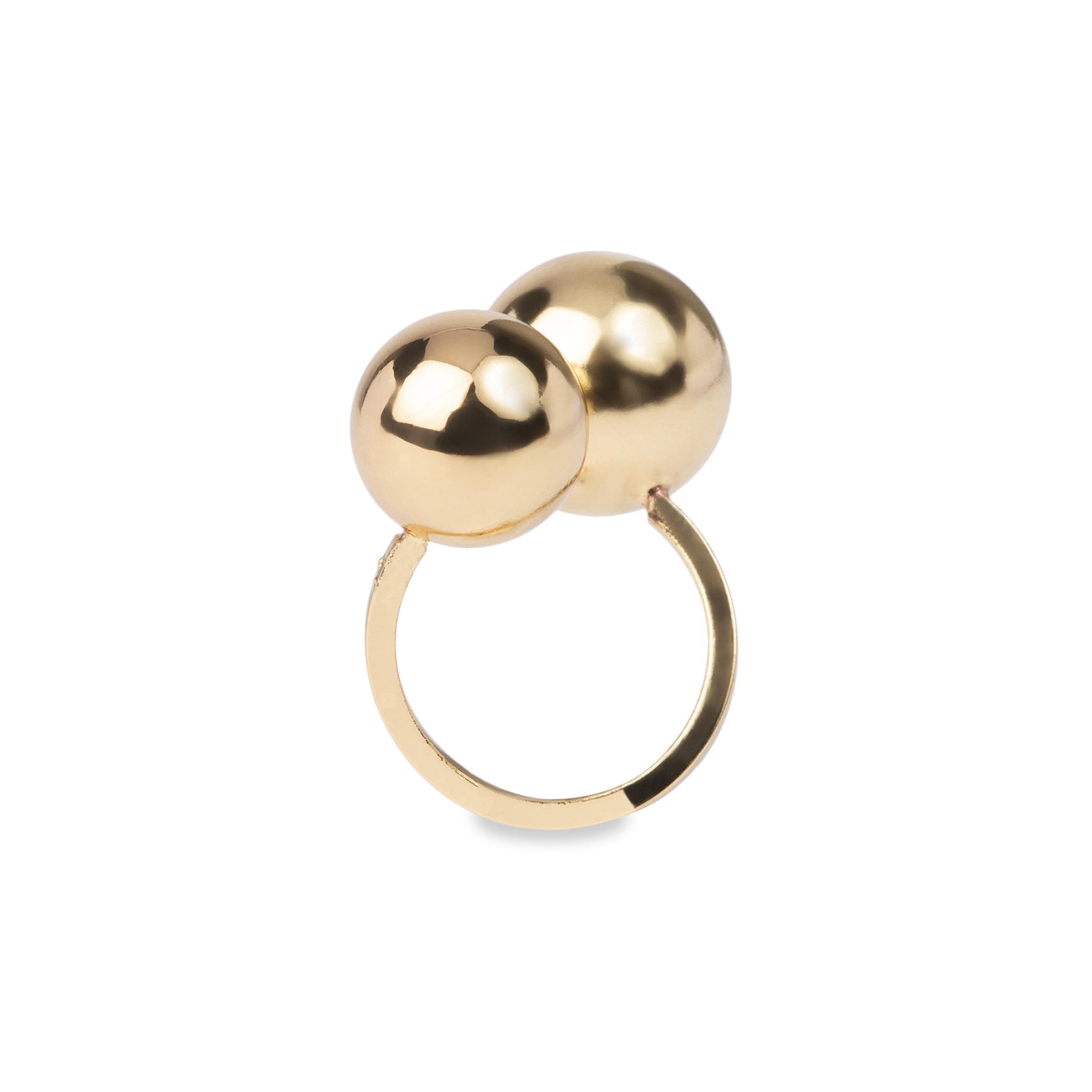 Damsmycke pfg Stockholm NOIR-Divine Ring - size 19 56004-07