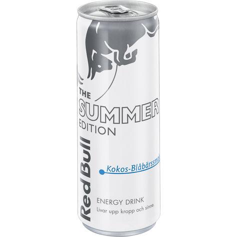 Red Bull White Ed. Kokos/Blåbär 25cl