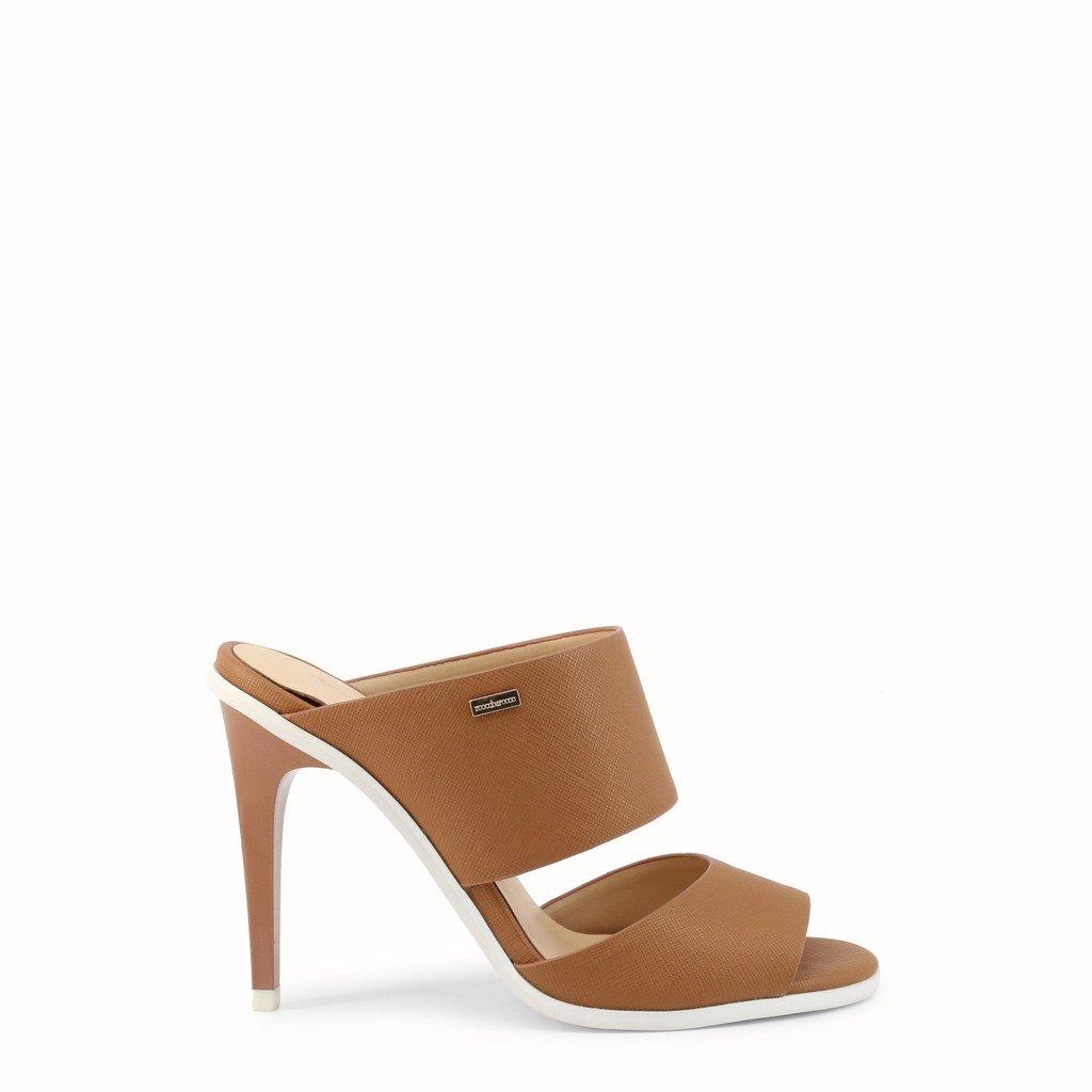 Roccobarocco Women's Sandal Various Colours ROSC12181 - brown EU 37