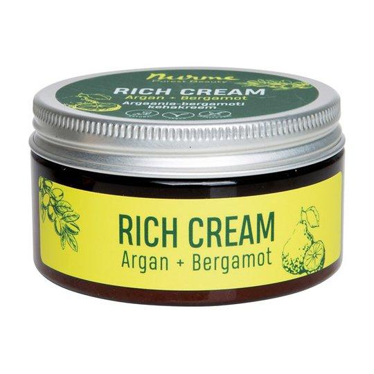 Nurme Rich Cream Argan + Bergamot, 100 ml
