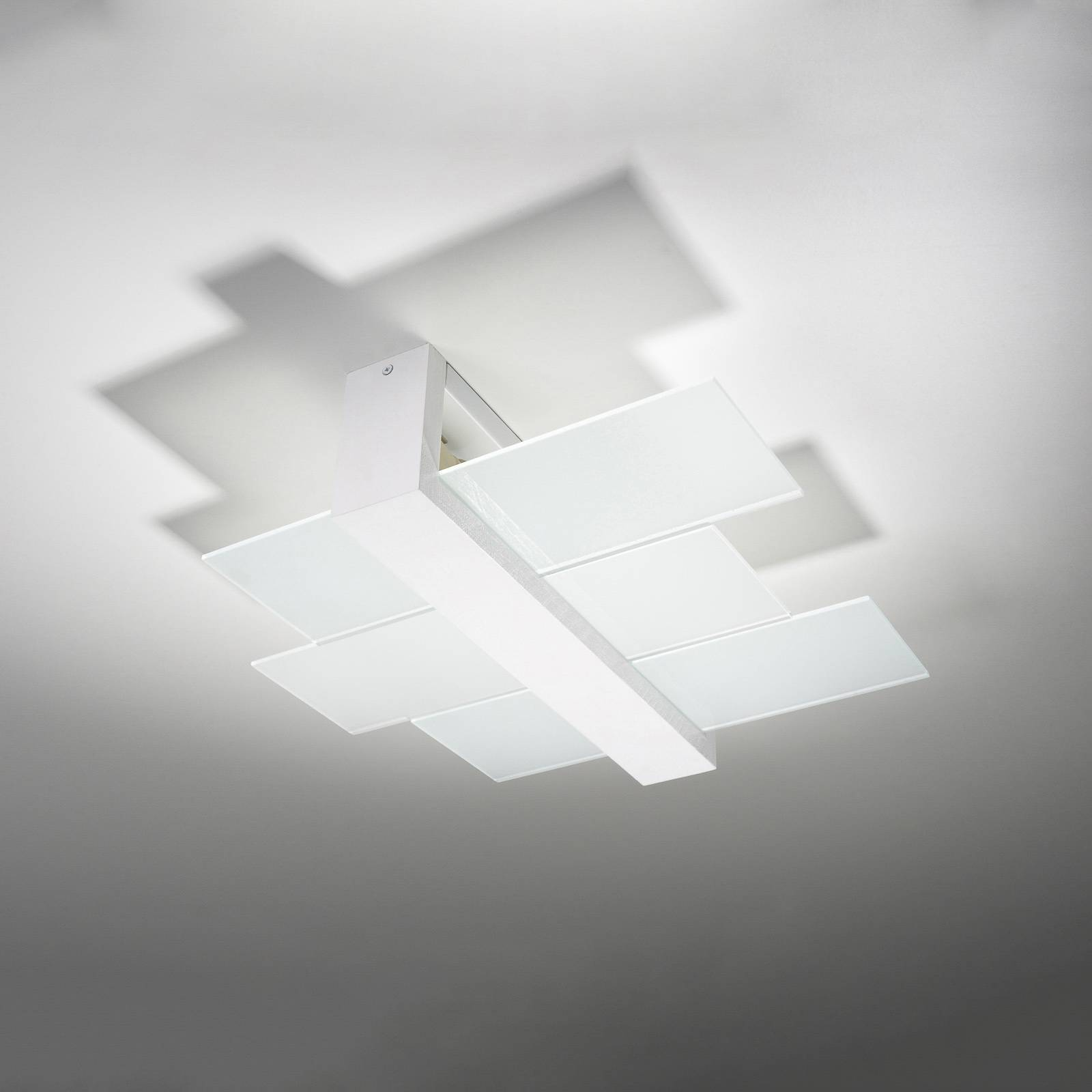 Kattovalaisin Shifted 2, lasi, valkoinen