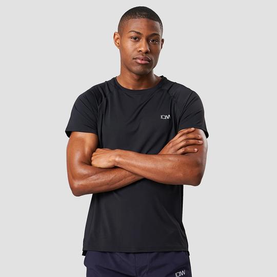Workout Melange T-shirt, Black