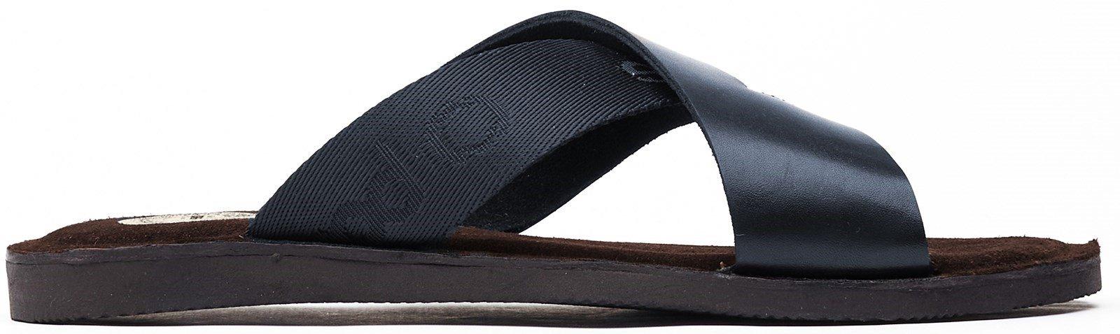 Base London Men's Miso Slip On Sandal Various Colours 32261 - Navy 7
