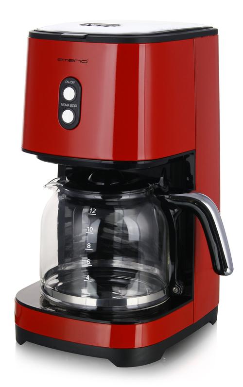 Emerio Cme-121593.7 Kaffebryggare - Röd