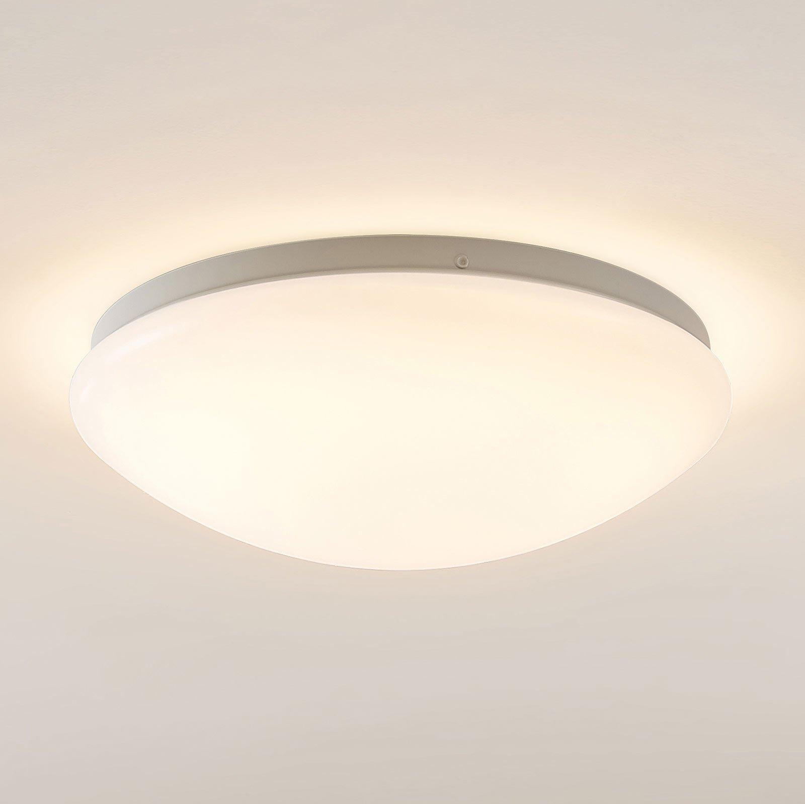 Arcchio Younes LED-taklampe, hvit, rund, 30 cm