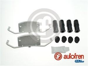 Tarvikesarja, jarrupala, Etuakseli, FORD S-MAX, VOLVO S60 II, S80 II, V60 I, V70 III, XC60, XC70 II