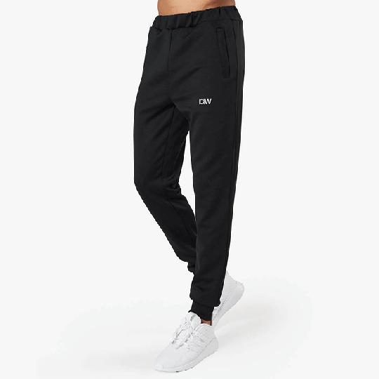 Workout Track Pants, Black