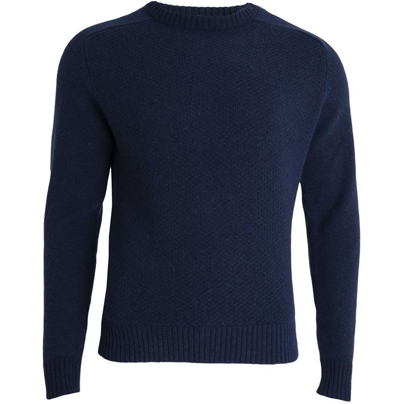 Tufte Bambull Blend Sweater M Insignia Blue - unisex