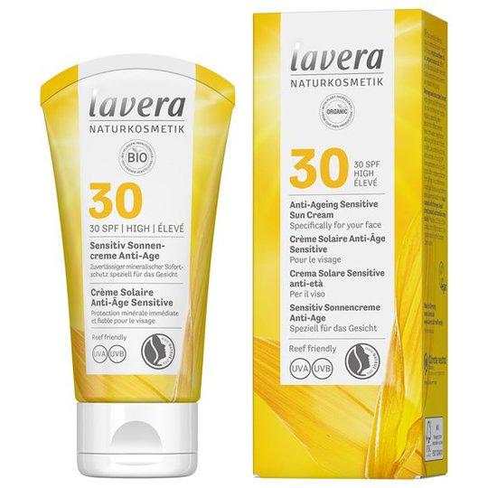 Lavera Anti-Ageing Sensitive Sun Cream SPF 30, 50 ml