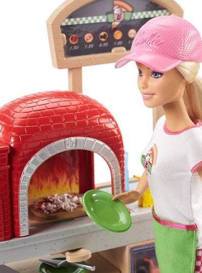 Barbie Pizzabaker Med Lekesett