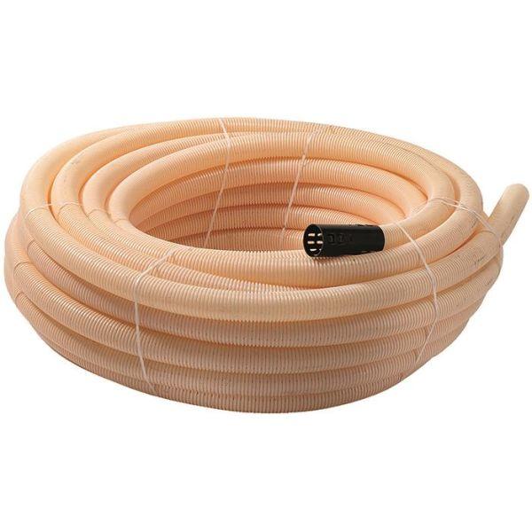 Pipelife 3002003031 Ojitusputki PVC, 92 x 80 mm, 10 m