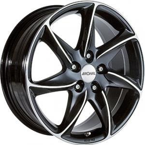 RONAL R51 Gloss Black Polished 6.5x15 5/114 ET45 B82