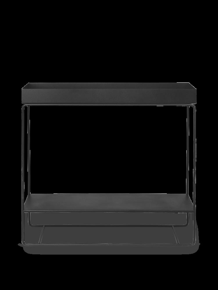 Ferm Living - Plant Box Two-Tier Table - Black (110206101)