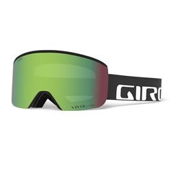 Giro Axis Black Wordmark Vivid Emerald