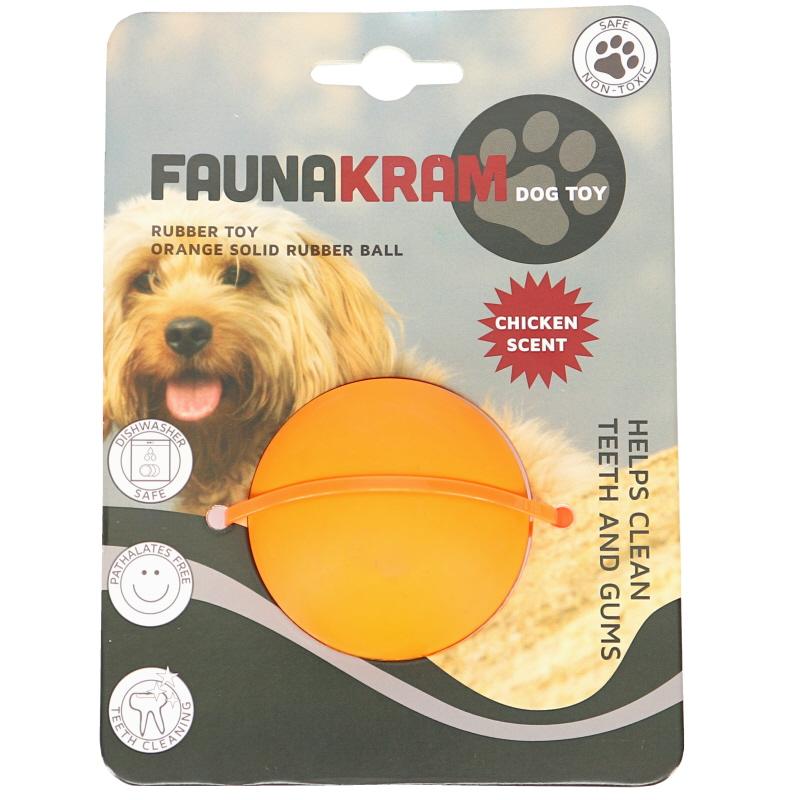 Koiranlelu Oranssi Pallo - 44% alennus