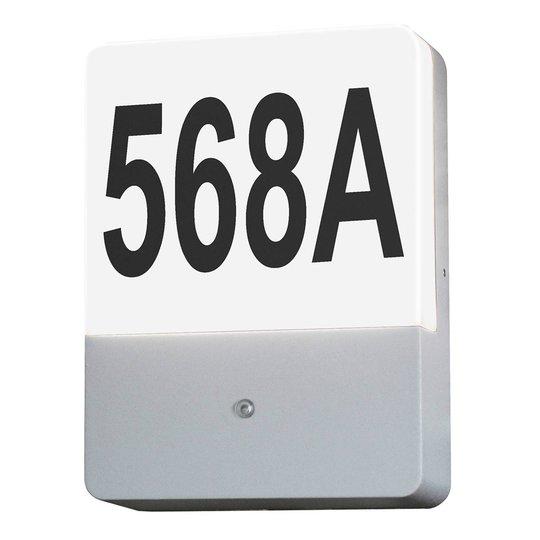Spandau DS husnummerlampe med skumringssensor