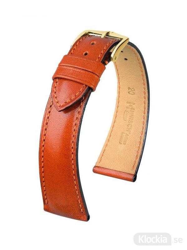 Hirsch Siena, Artisan Leather 18mm Medium Guldbrun/Guld 04202170-1-18