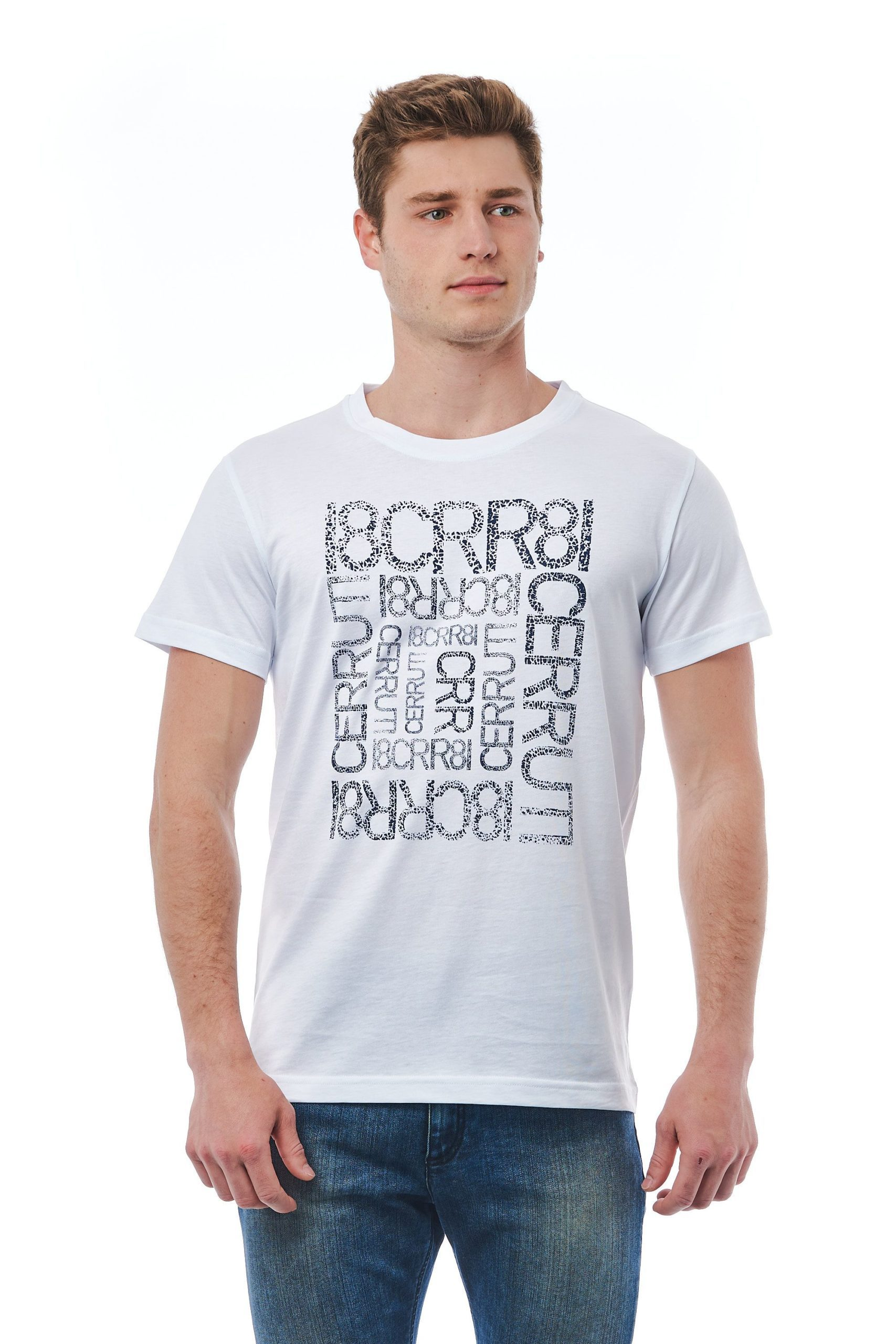 Cerruti 1881 Men's Ghiaccio Ice T-Shirt White CE1409903 - L